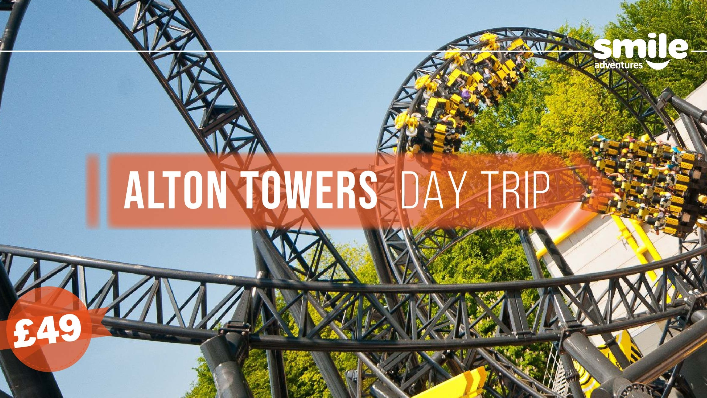 Alton Towers Theme Park – From Manchester
