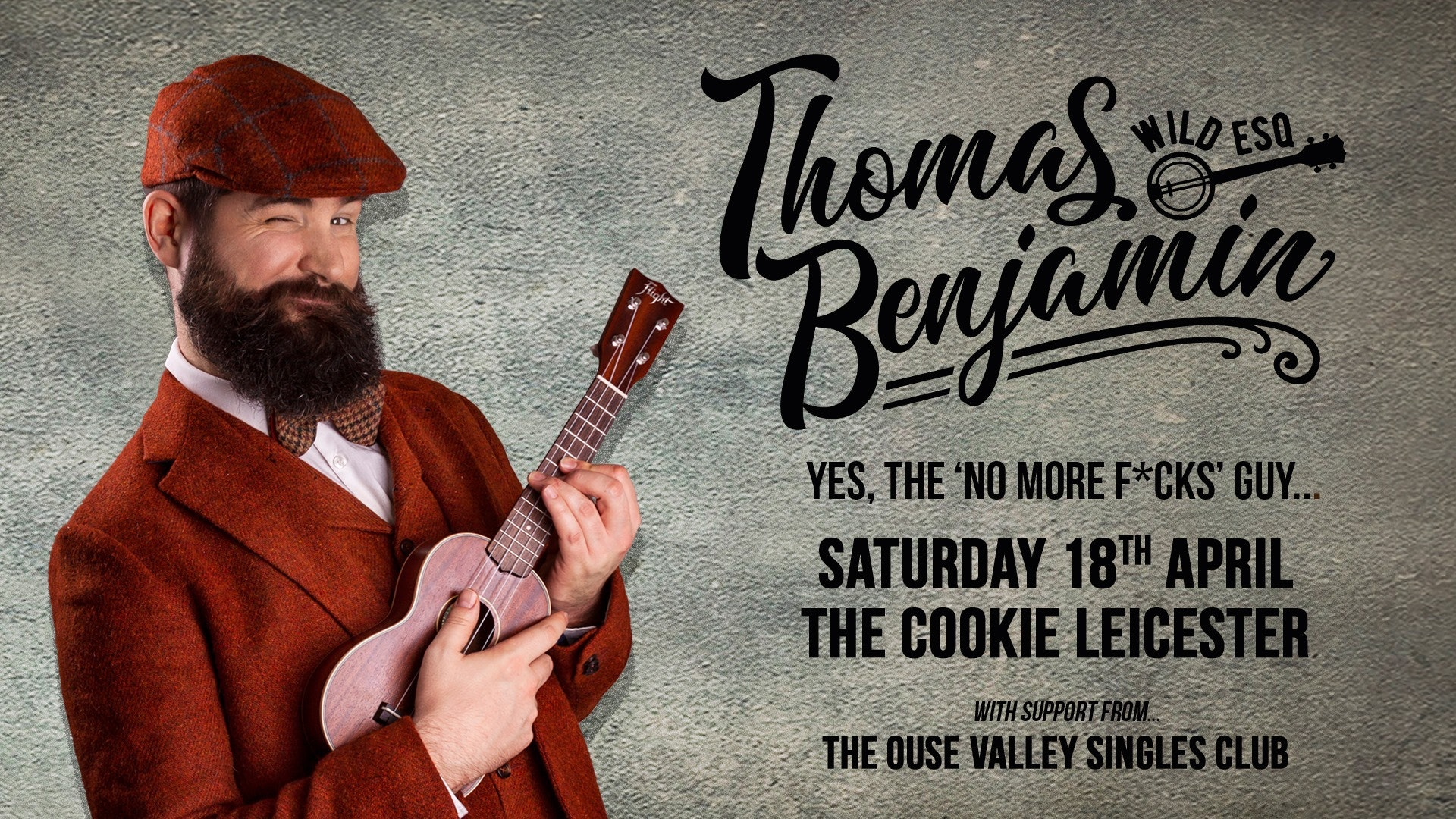Thomas Benjamin Wild Esq. + The Ouse Valley Singles Club (solo)