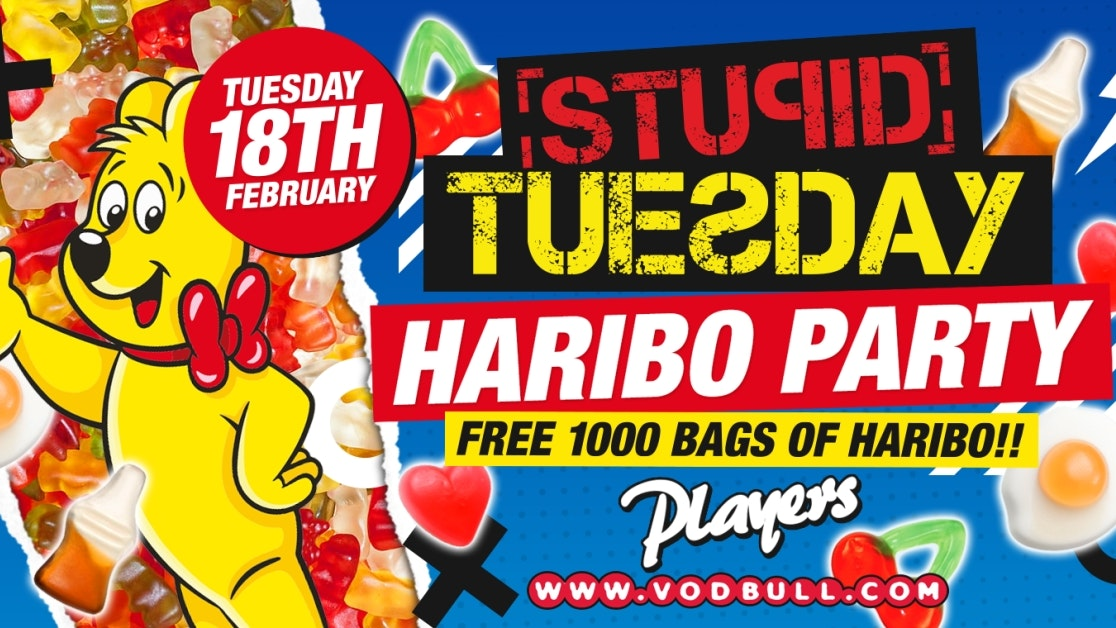 🍬 Stuesday x 1000 FREE Bags of Haribo 🍬 Final 25 Tickets