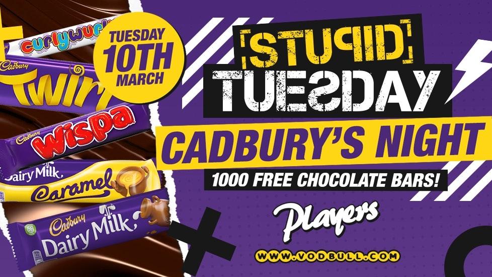 🍫 Stuesday x Cadbury's 🍫 Tickets on door 🍫