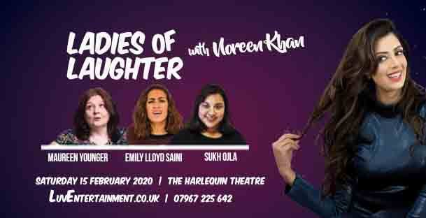 Ladies Of Laughter With Noreen Khan – Redhill