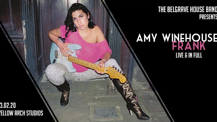 The Belgrave House Band pres. Amy Winehouse 'Frank' live
