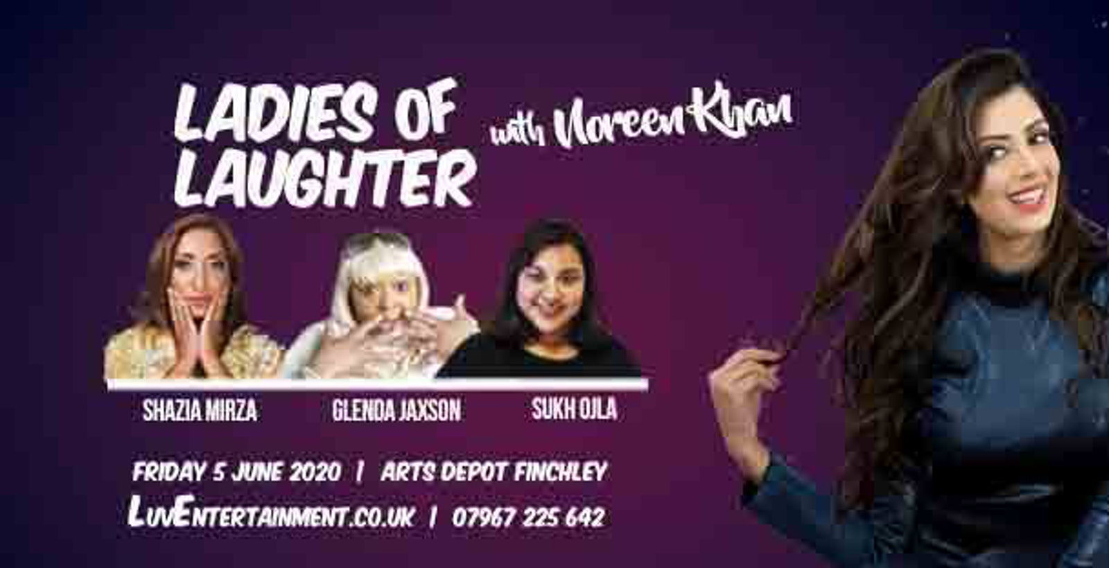 Ladies Of Laughter With Noreen Khan – Finchley