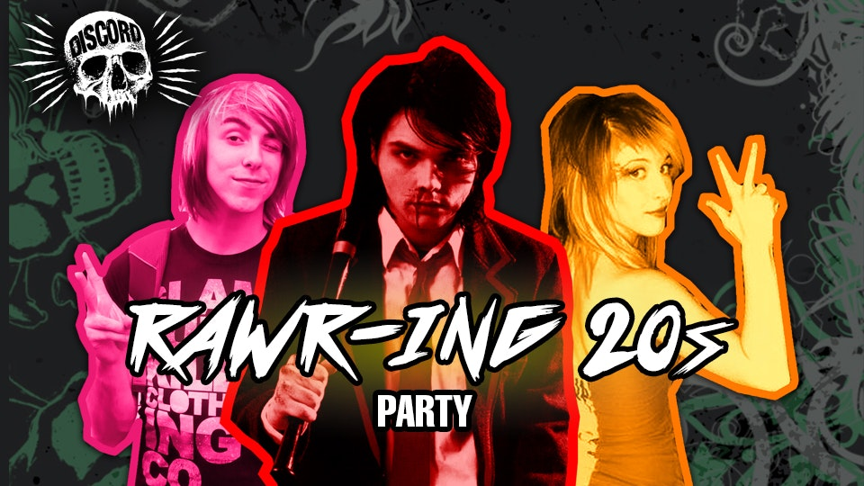 RAWR-ing 20s Party at Discord!