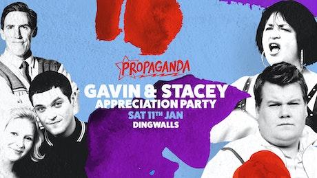 Propaganda London – Gavin & Stacey Appreciation Party!
