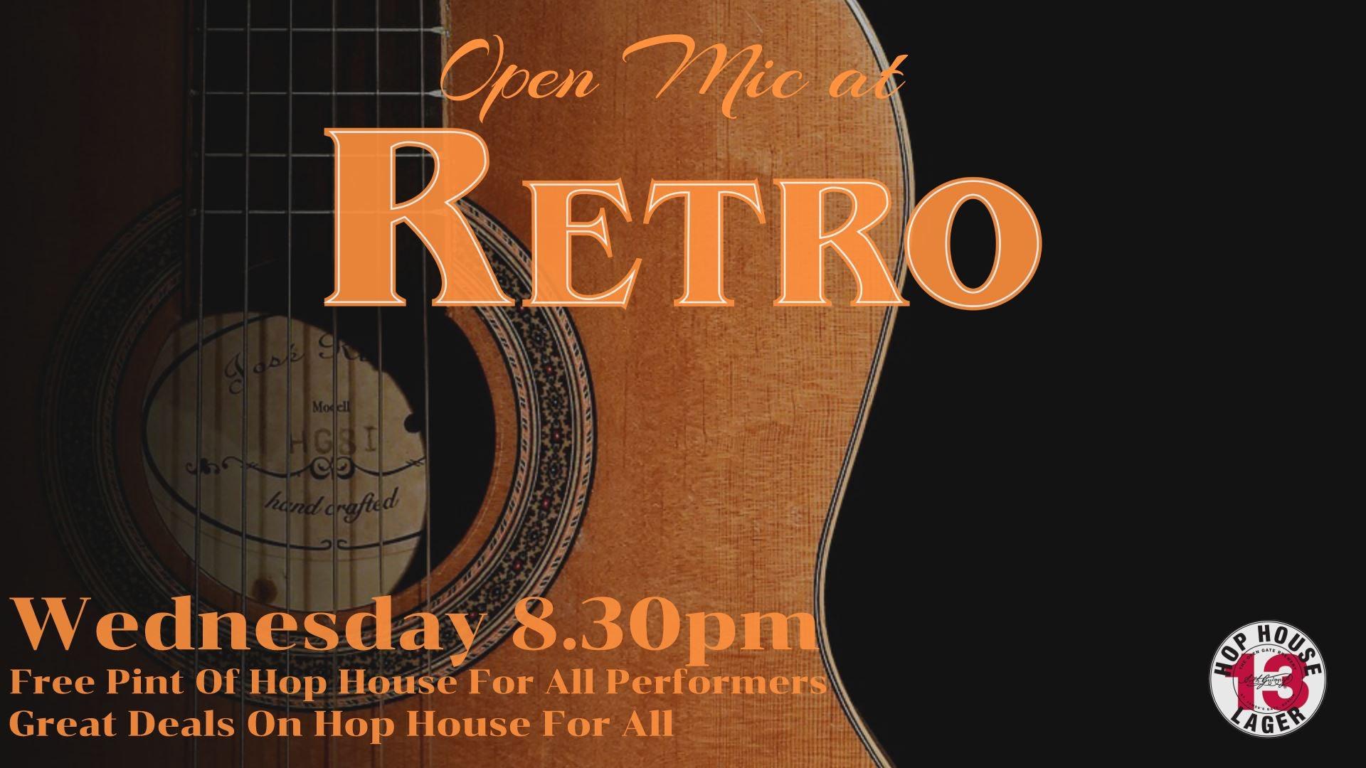 Open Mic At Retro