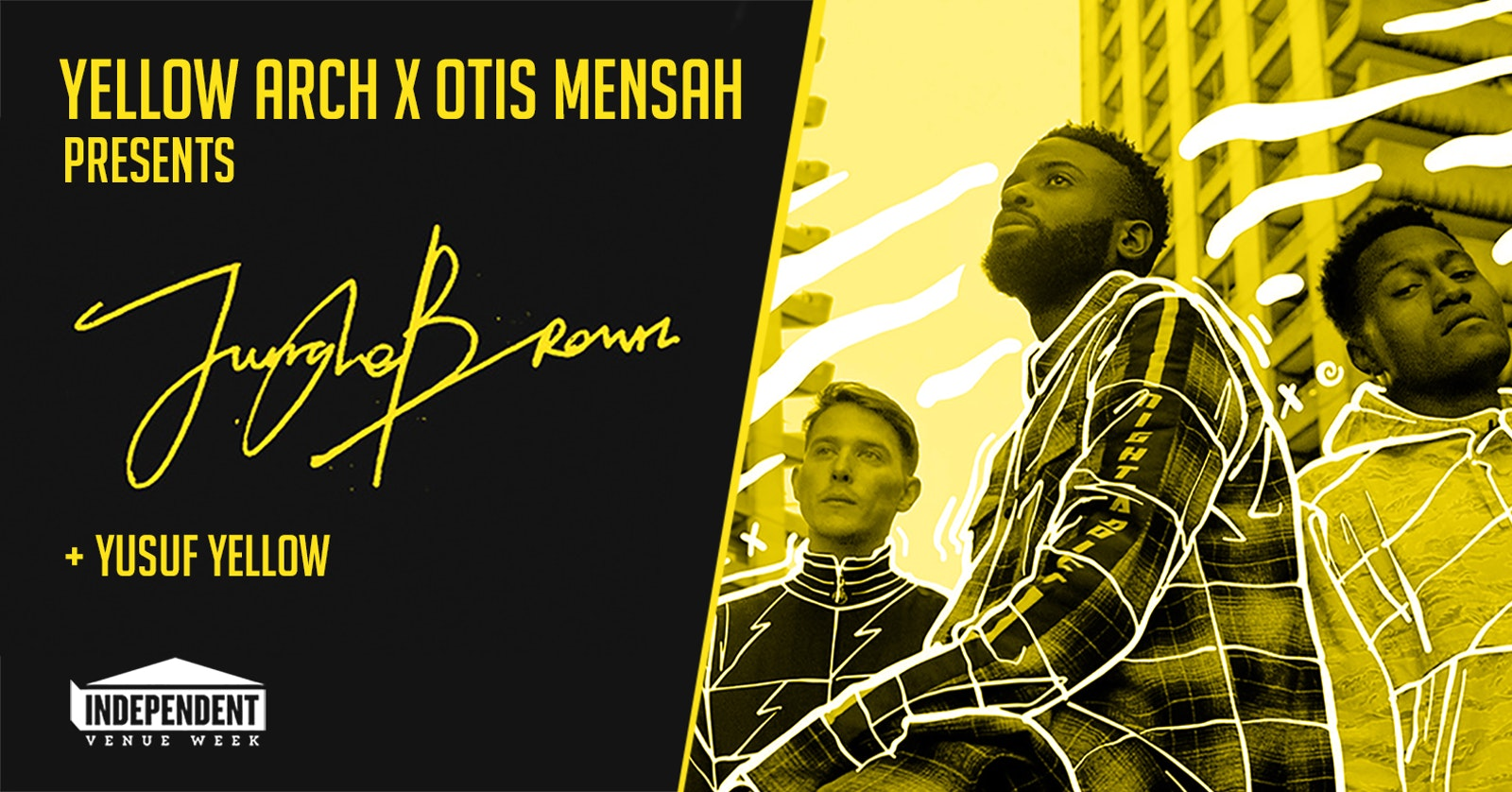 Otis Mensah x Yellow Arch pres. Jungle Brown