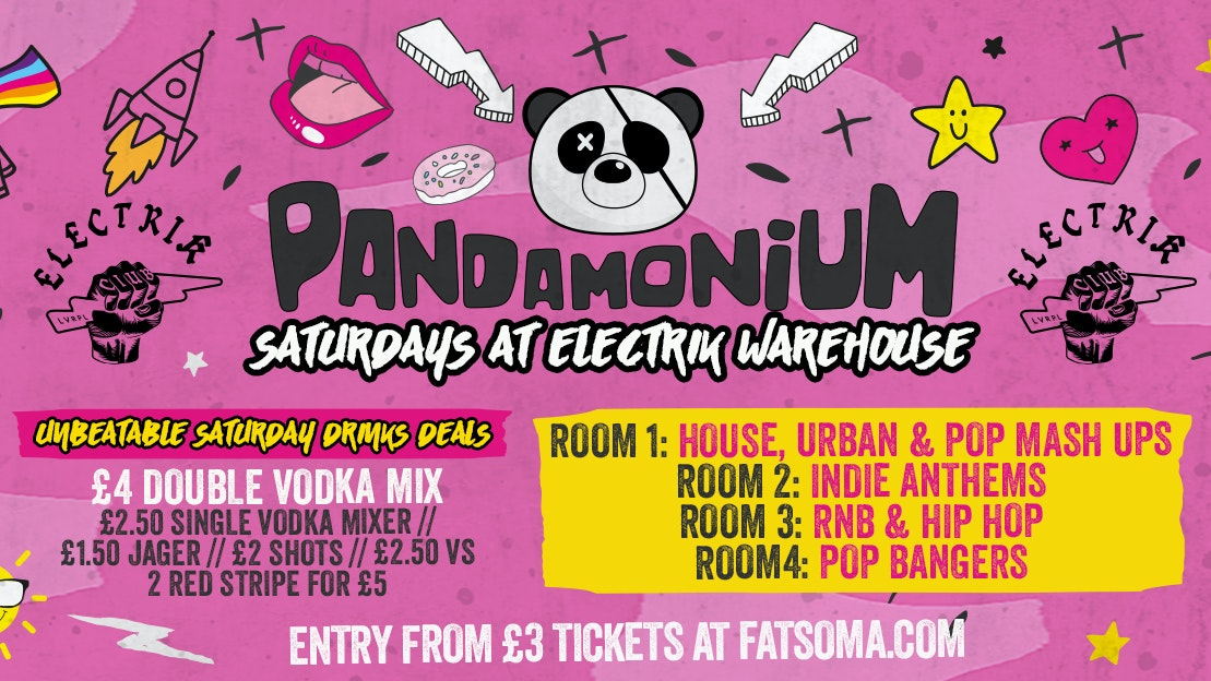 Pandamonium Saturdays with Steve Mcfadden Meet & Greet