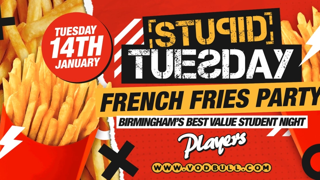 🍟 Stuesday x 2020 Refreshers Week – SOLD OUT 🍟