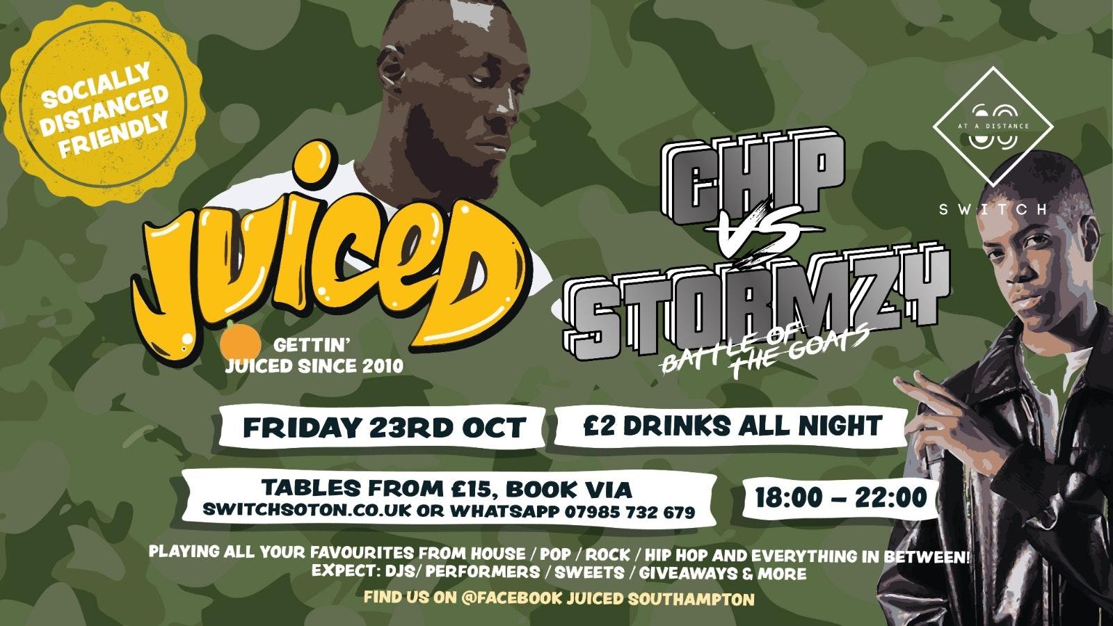 Juiced: Chip v Stormzy – Battle of the GOATS