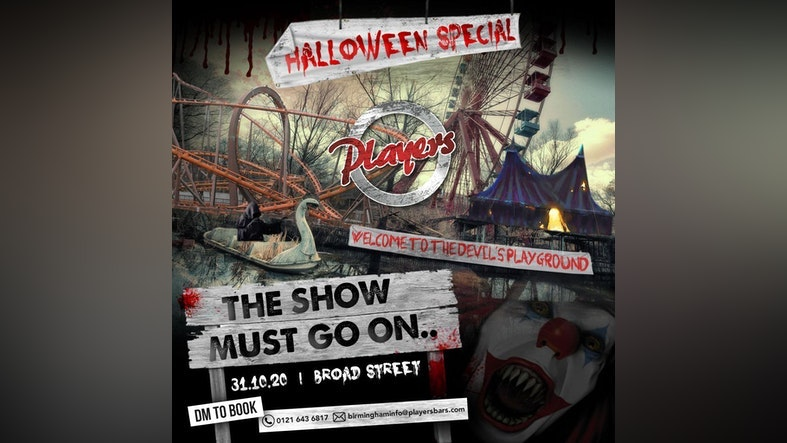 Halloween Saturday Players // The show must go on.. // 31.10.10 – SOLD OUT!