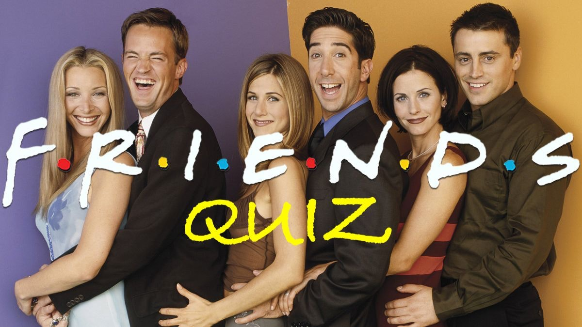 F.R.I.E.N.D.S Quiz – Players! **Sell out warning**