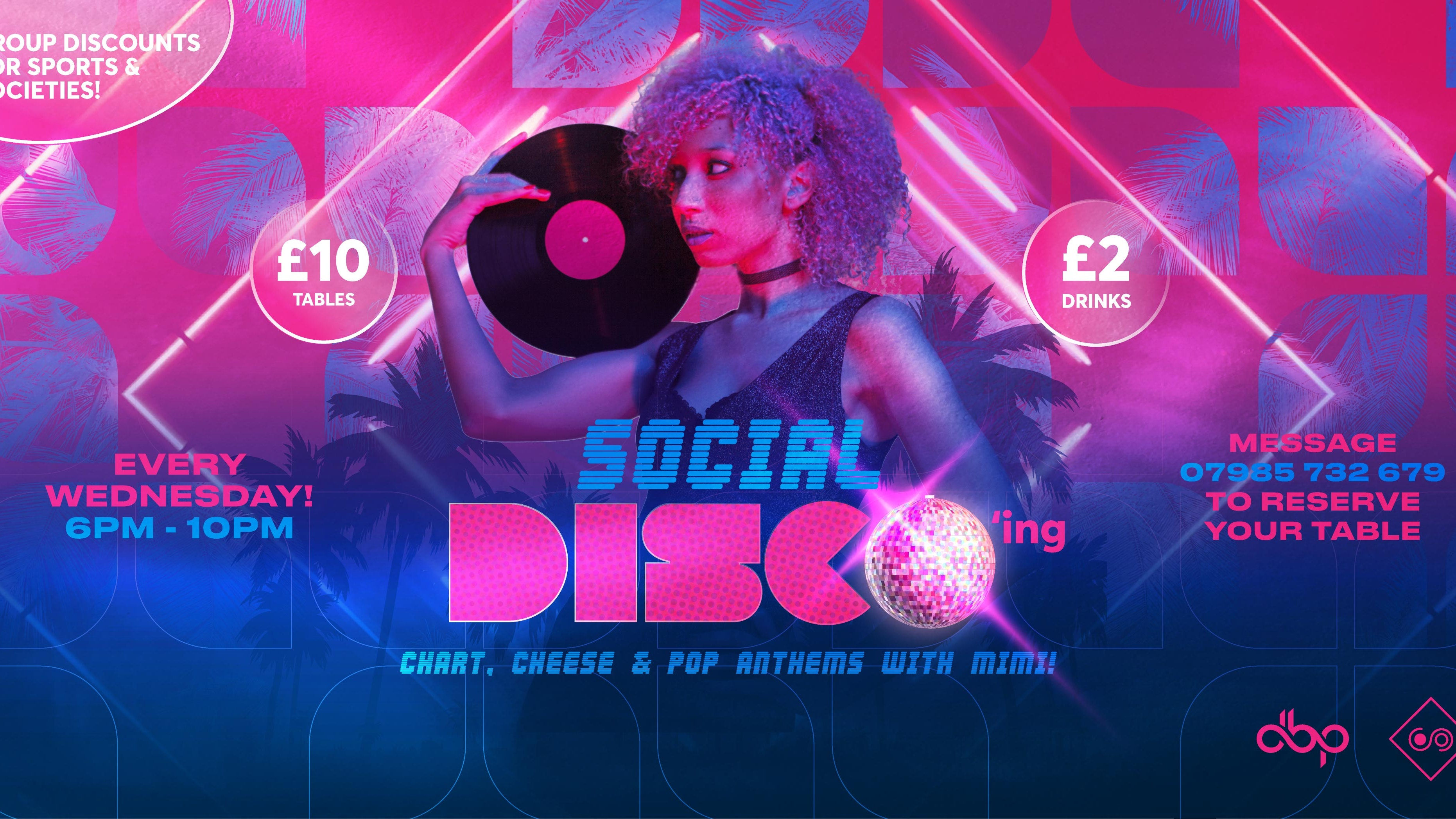 Social Disco'ing  – Wednesday 21st October