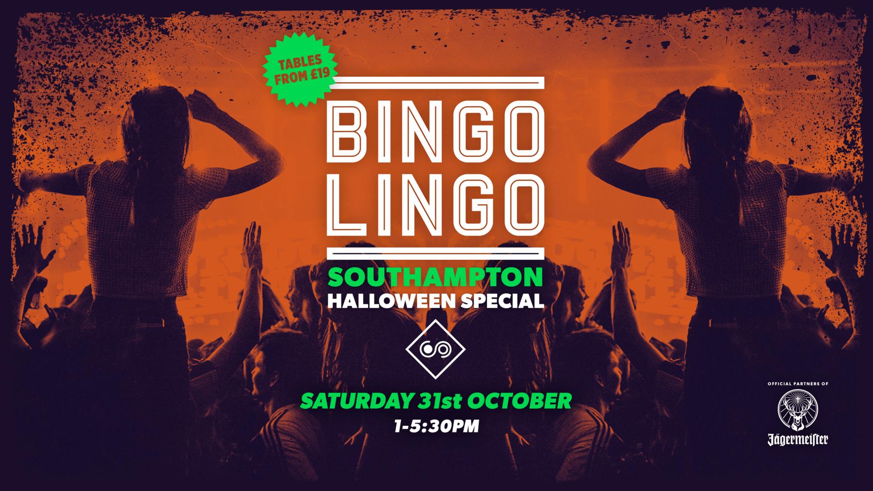 *SOLD OUT* – BINGO LINGO – Southampton – HALLOWEEN SPECIAL!