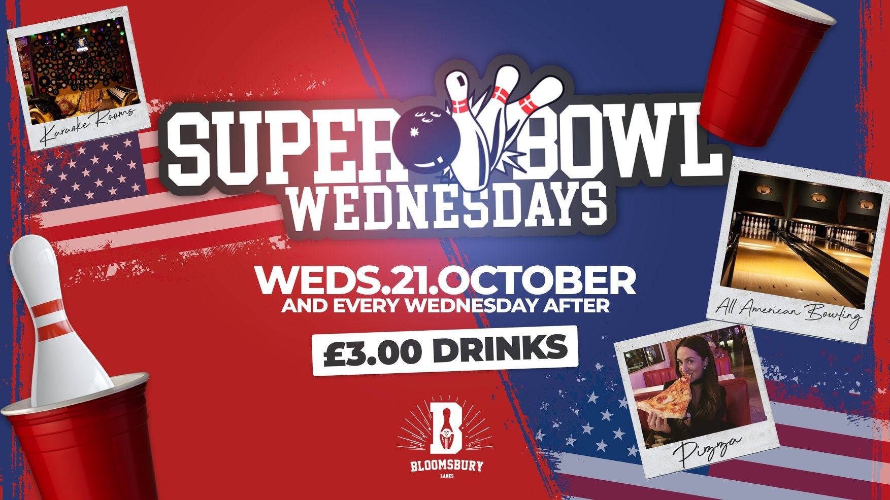 SUPER BOWLING 🎳🍹London's Freshest Student Session | SOLD OUT