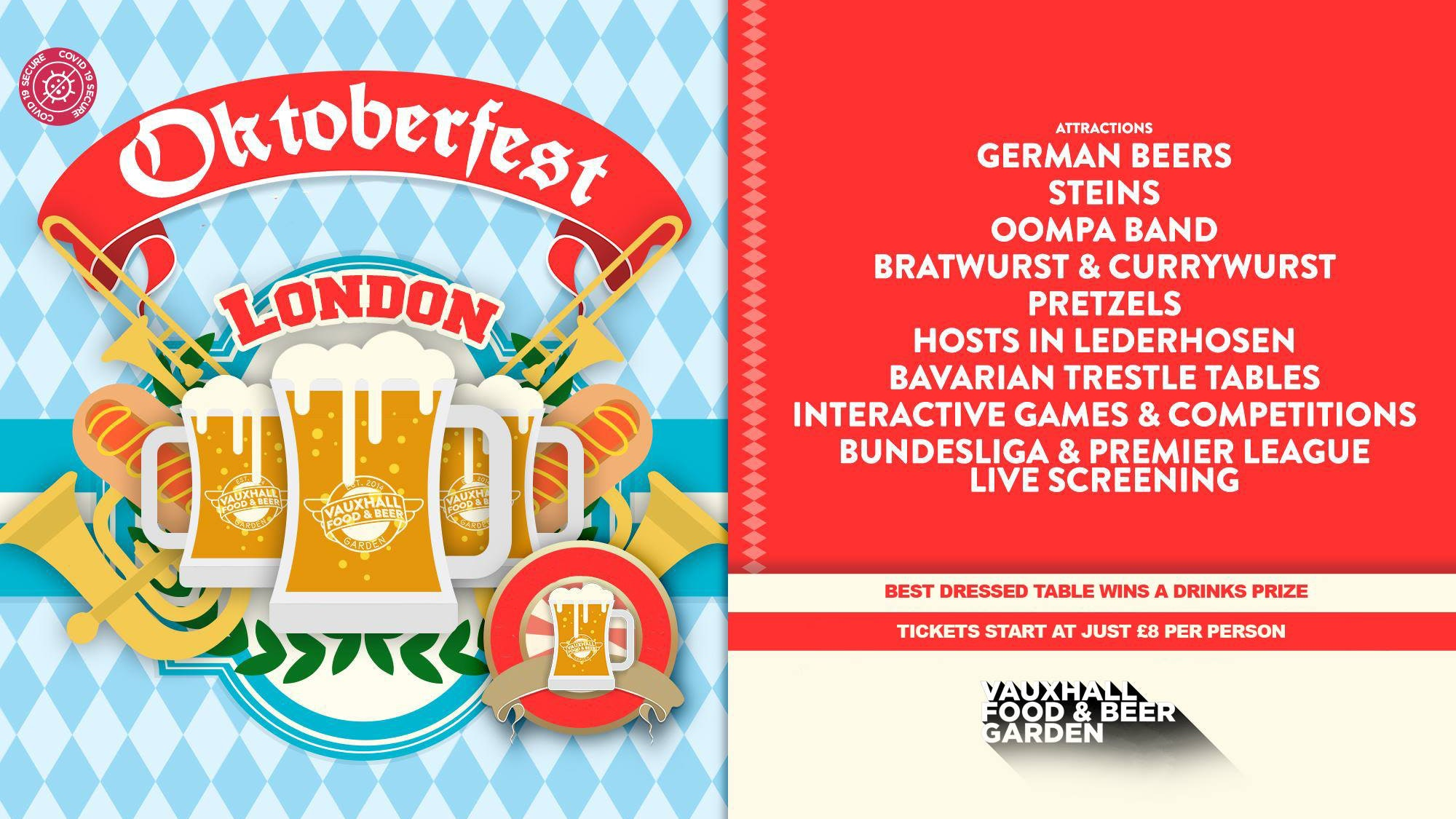 The Big Student OKTOBERFEST 🇩🇪🇩🇪 🎉Thursday October 22nd – Tickets Out Now!