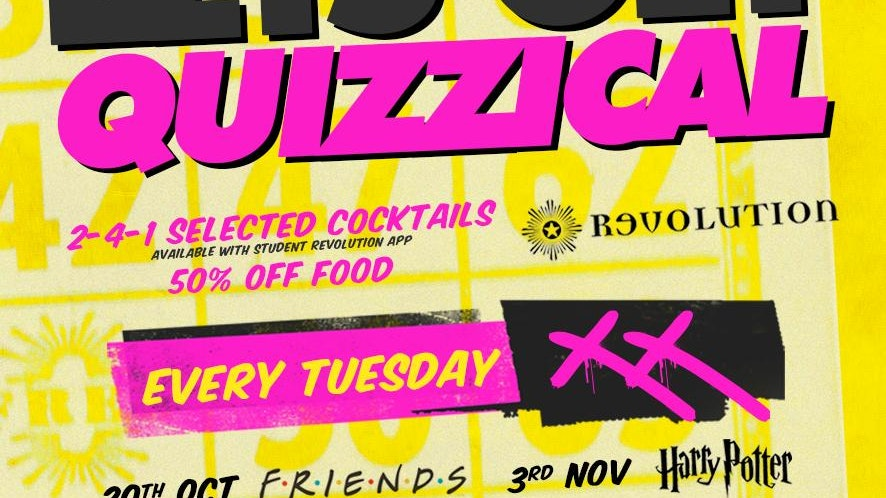 Lets Get Quizzical @ Revolution Electric Press – Halloween
