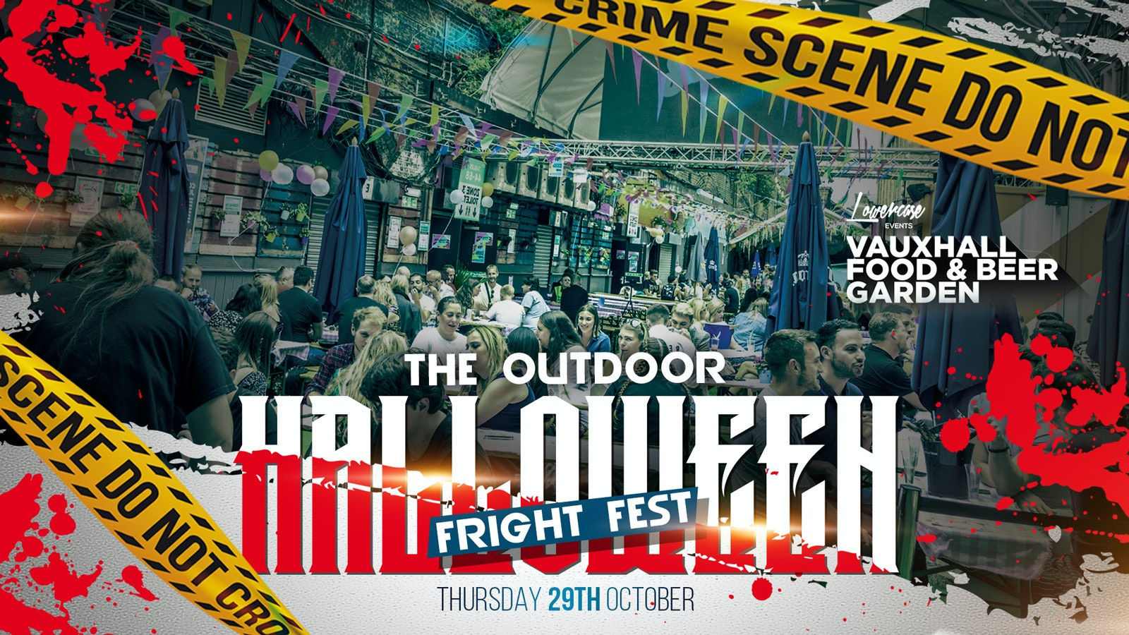 THE 2020 OUTDOOR HALLOWEEN HORROR FEST! THIS EVENT WILL SELL OUT!