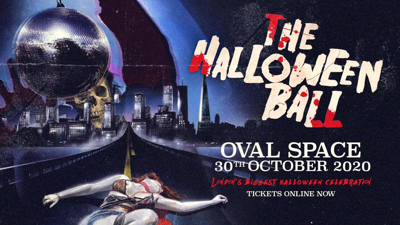 The Secret Halloween Ball 2020 | London – Tickets Out Now!