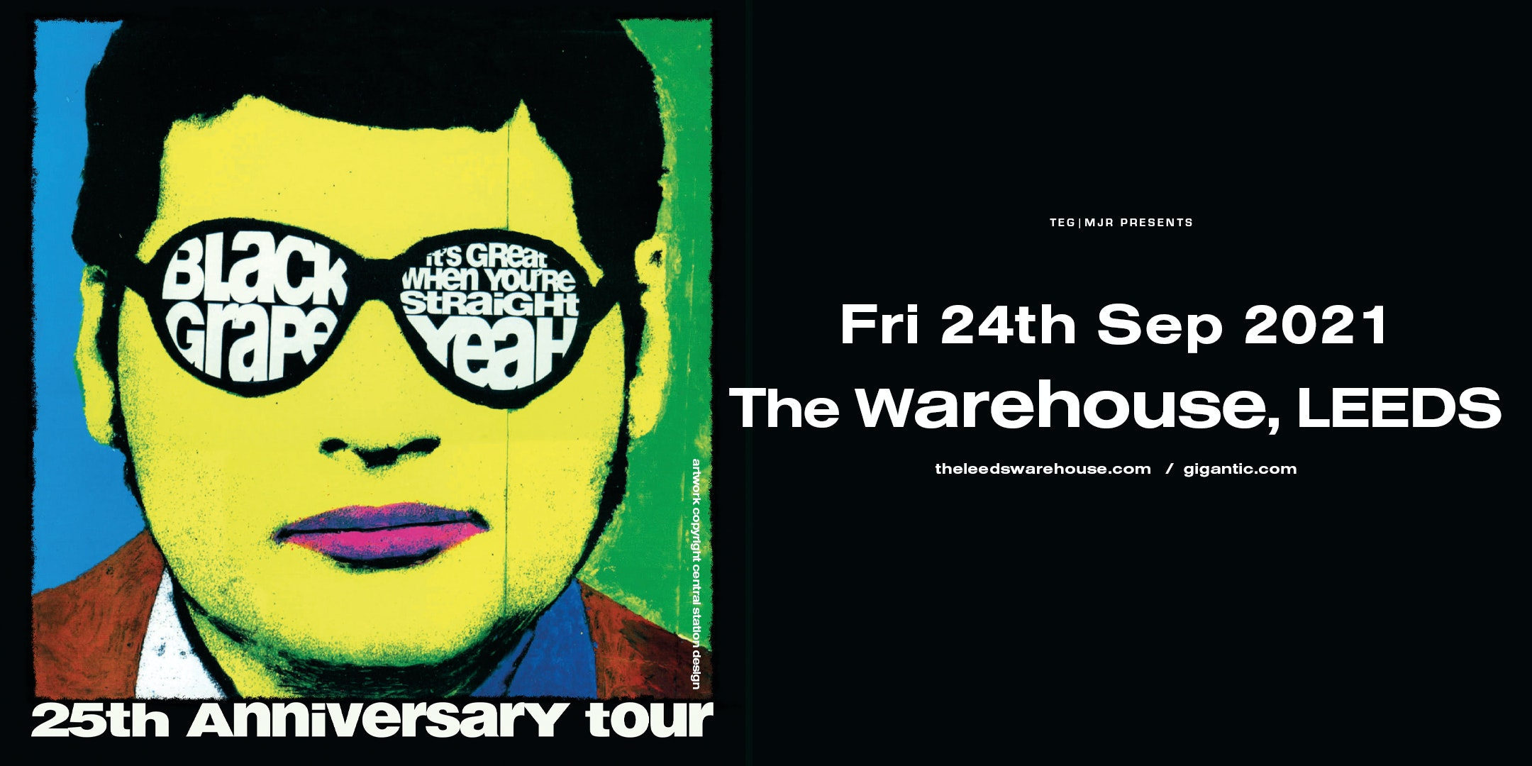Black Grape – It's Great When You're Straight 25th Anniversary Tour – Live