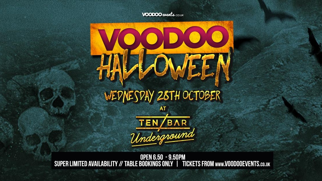 Halloween Voodoo Wednesdays @ Ten Bar Underground (Formerly Space)