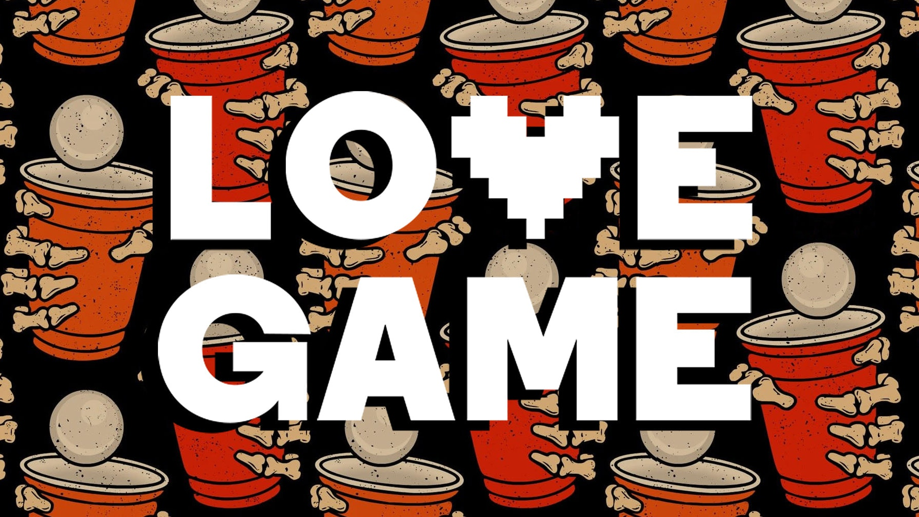 LOVE GAME 💔 Halloween FRIGHT NIGHT 👻 at Sink Pong Shoreditch