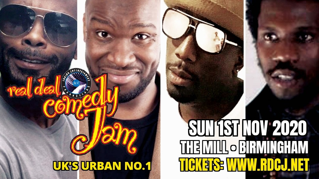 Real Deal Comedy Jam – Birmingham