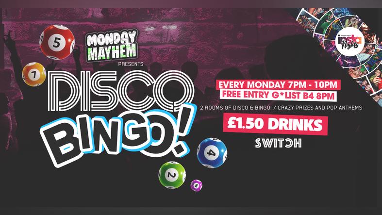 Monday Mayhem presents Disco Bingo