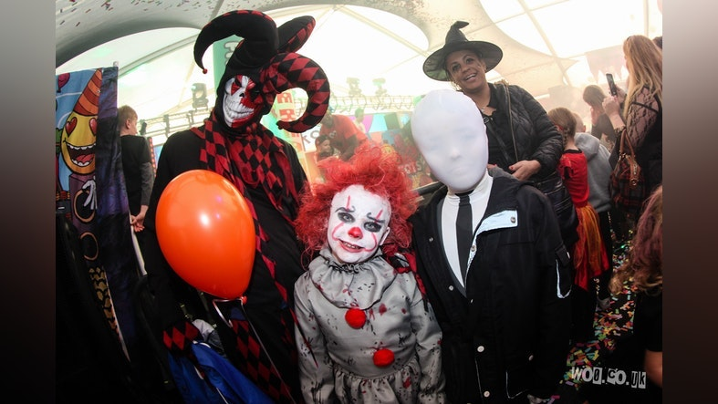 Raver Tots Halloween Party Bracknell