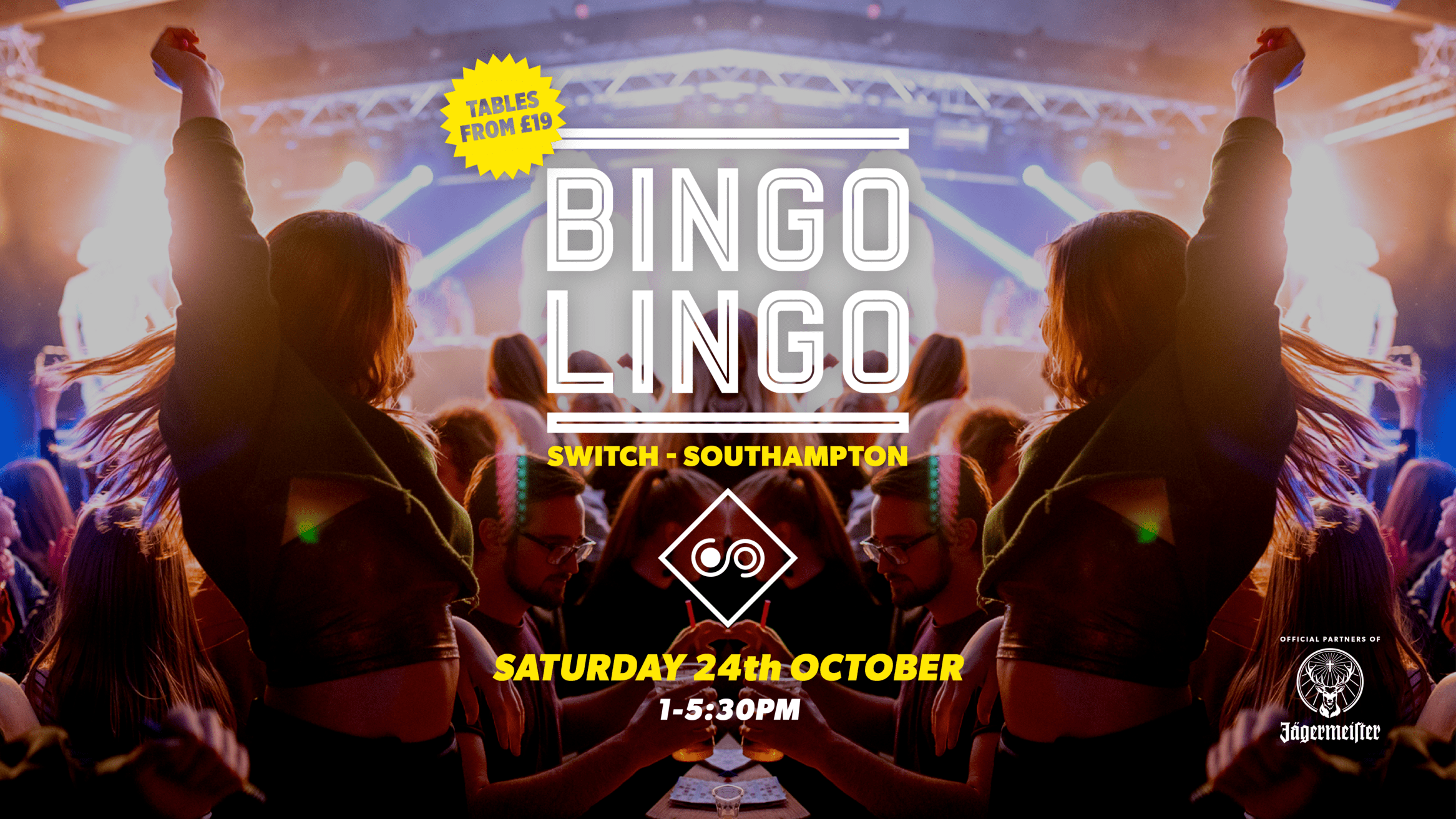 BINGO LINGO – Southampton – October 24th