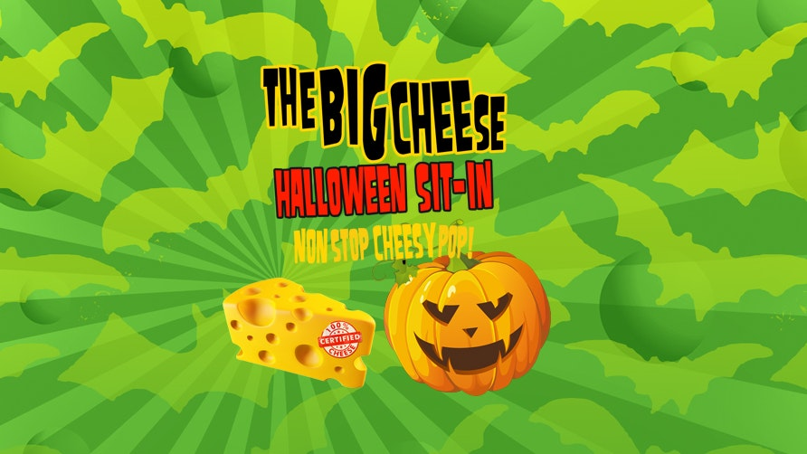 The Big Cheese Halloween Sit-In!