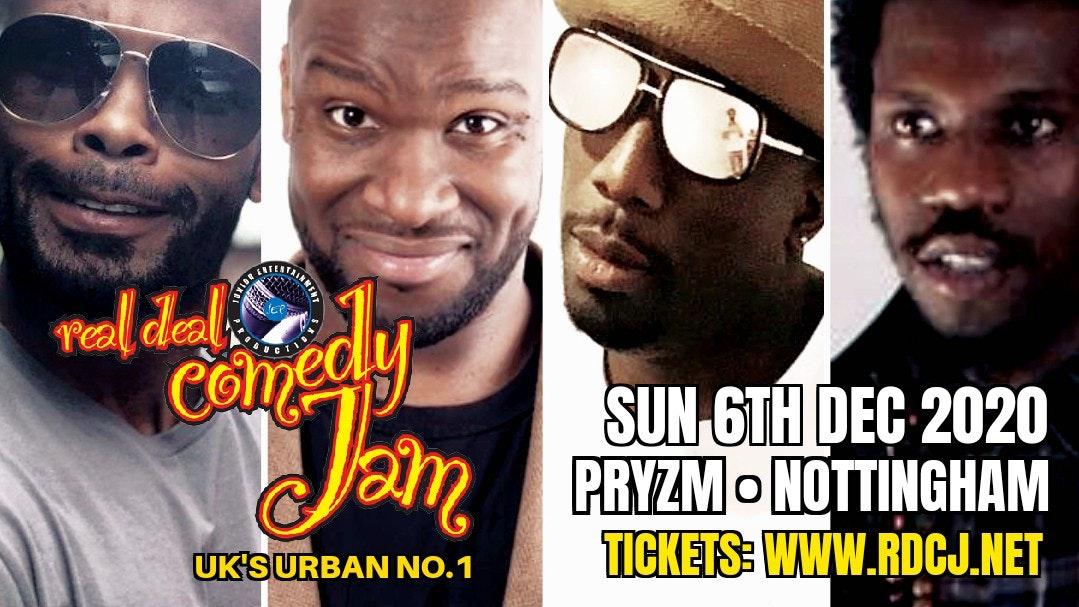 Real Deal Comedy Jam – Nottingham