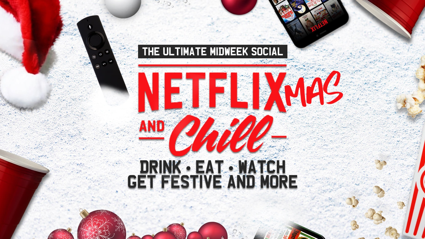 Netflix & Chill 👀 CHRISTMAS MOVIE NIGHT 🎄 Films = Love Actually or Elf ❄️