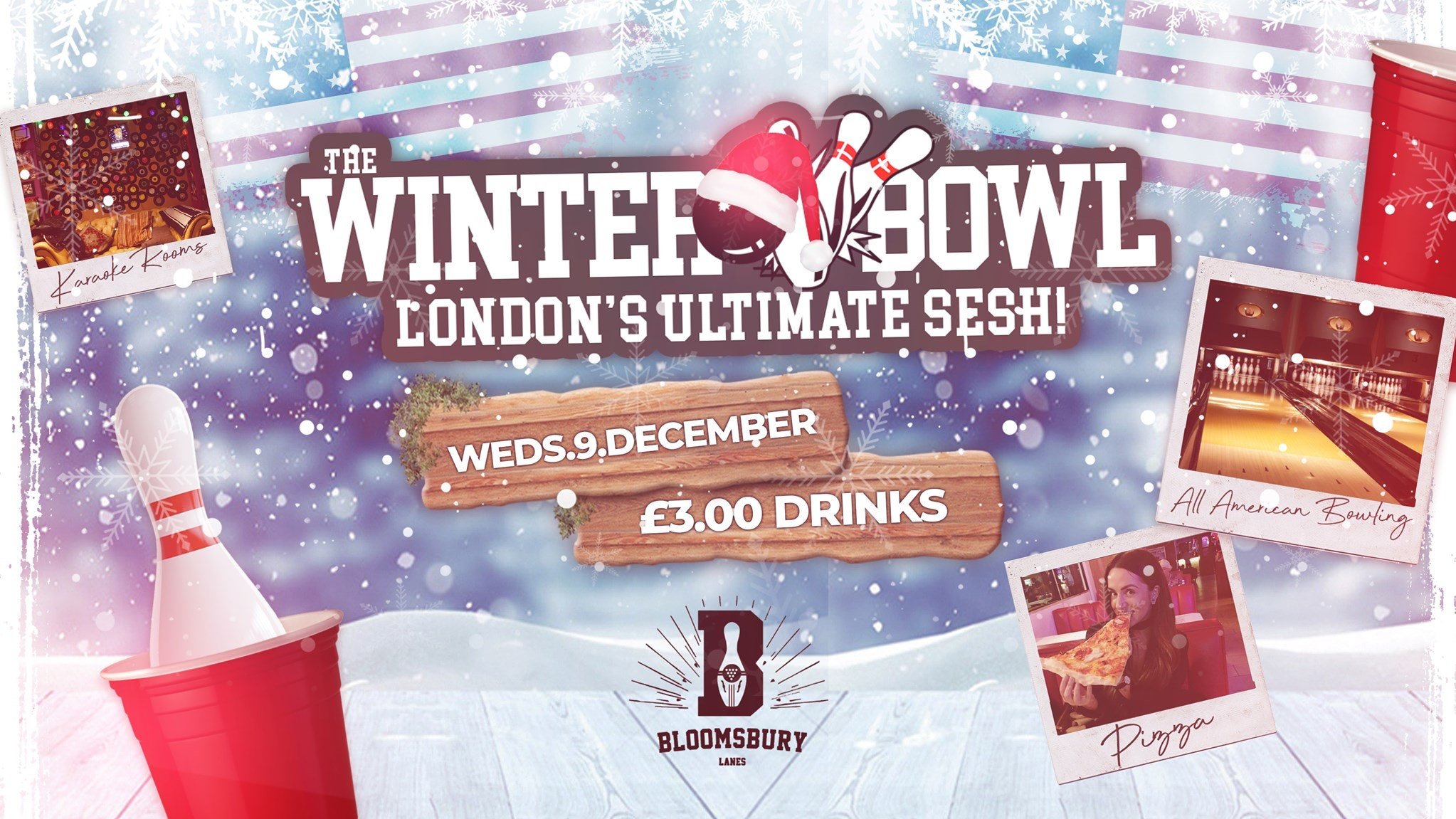SUPER BOWLING WEDNESDAYS 🎳🍹London's Freshest Student Session | £3 Drinks!