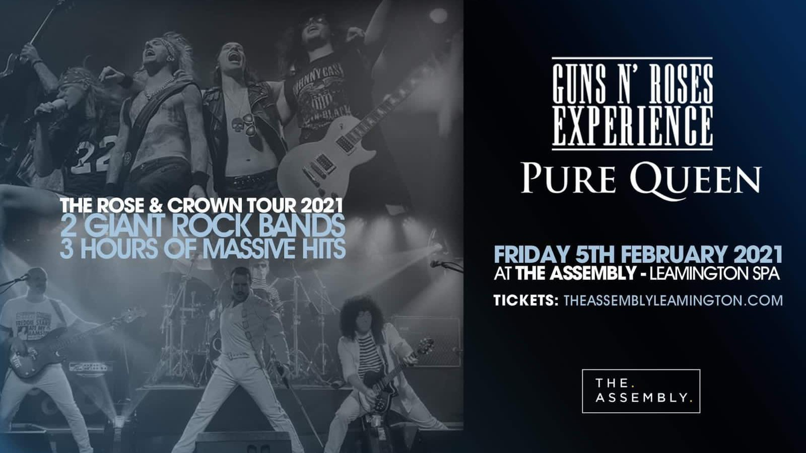 The Guns N Roses Experience at Assembly Leamington