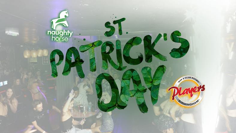 🇮🇪🍻 St Patricks On Broad Street 🍀 – Players! ***Black Friday Launch Sale – ALL TABLES £10 TODAY ONLY!***