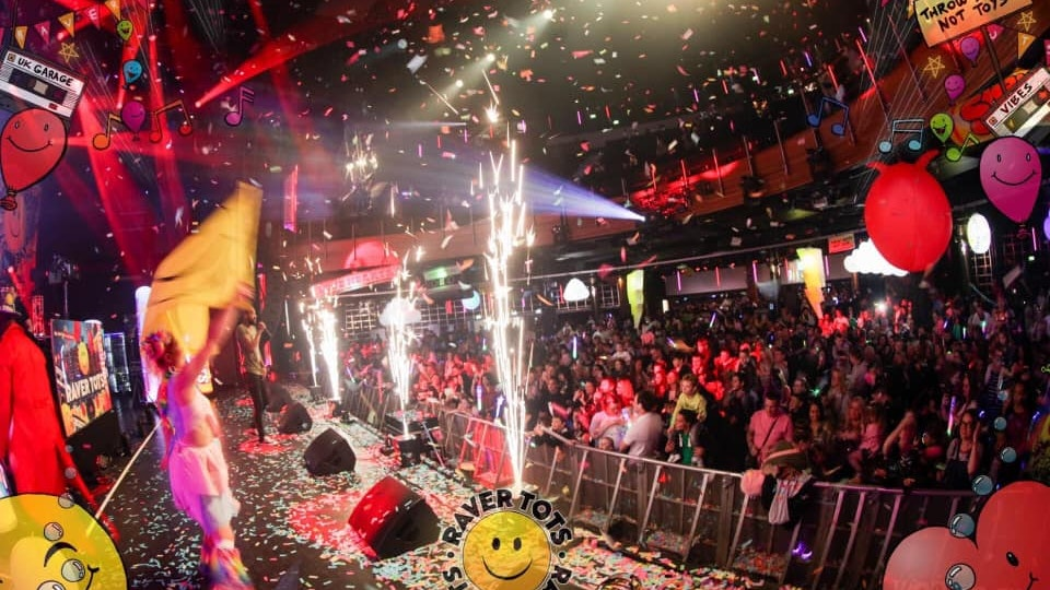 Raver Tots New Years Eve Party Manchester