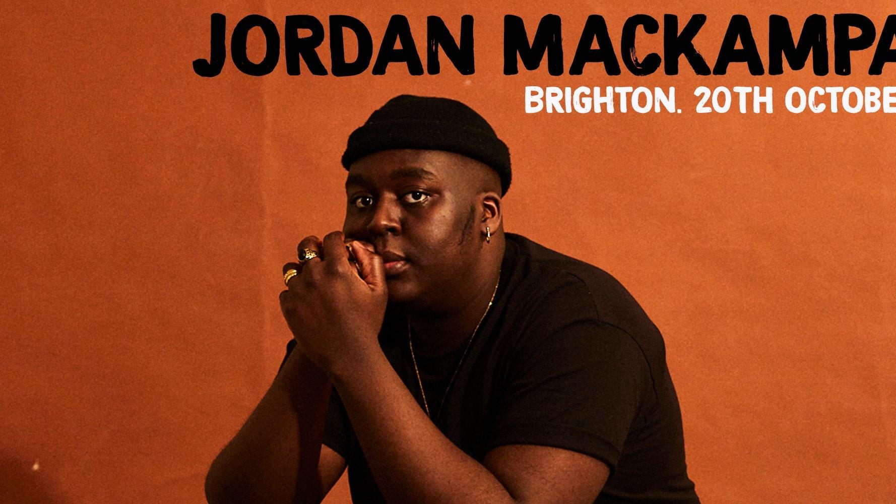 Jordan Mackampa + Sharky (rescheduled)