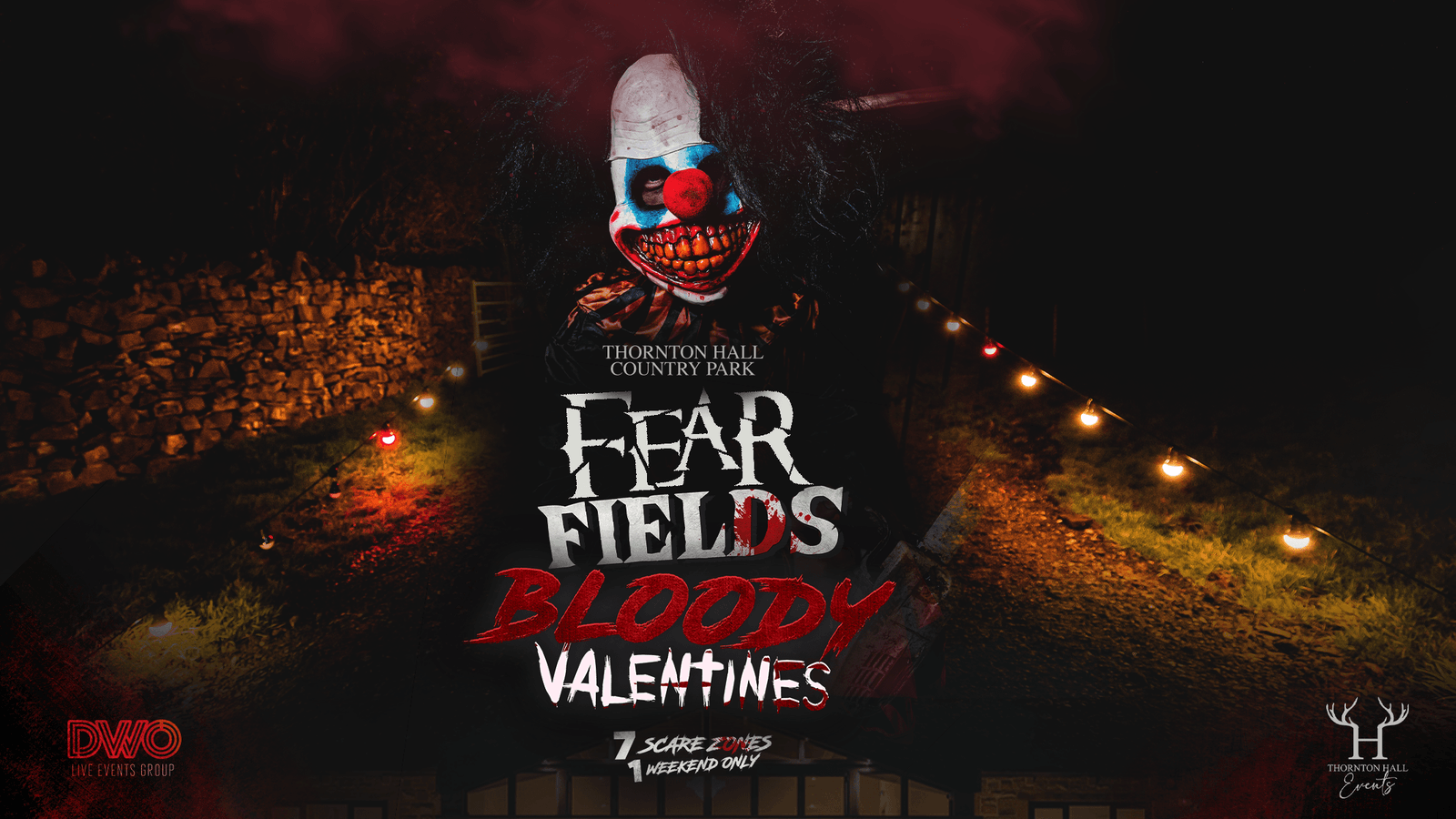 Fear Fields – Bloody Valentines, The Horror Walk