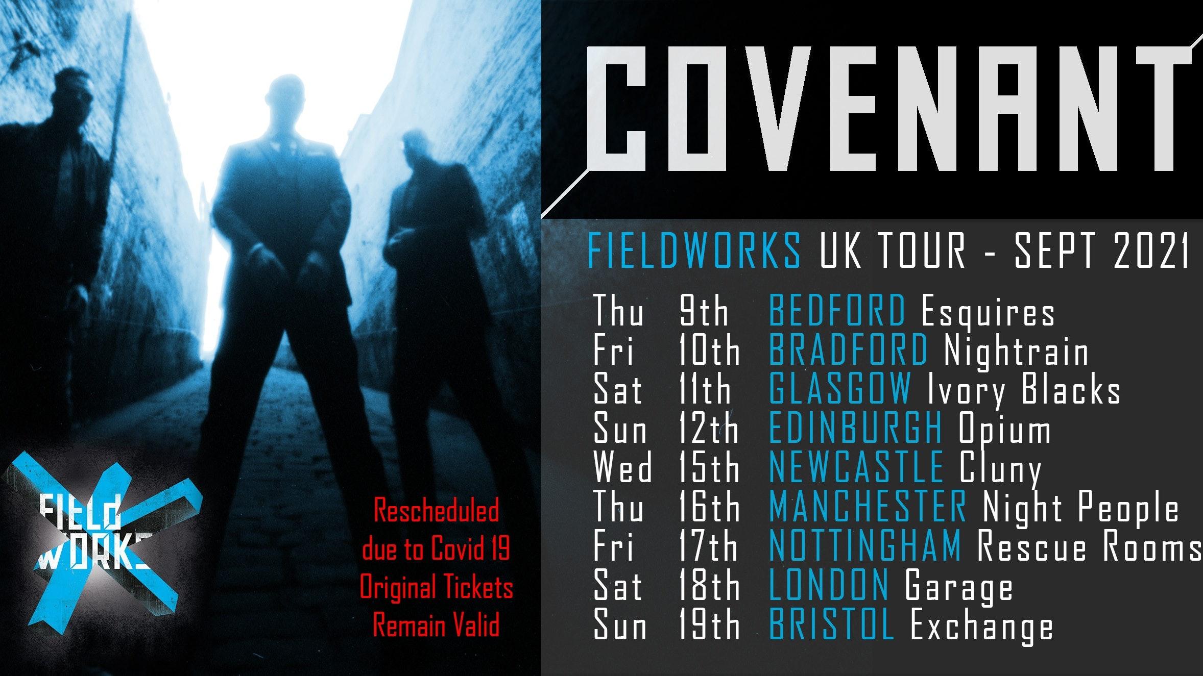 Covenant Fieldworks 2021 UK Tour – BRADFORD – NEW DATE