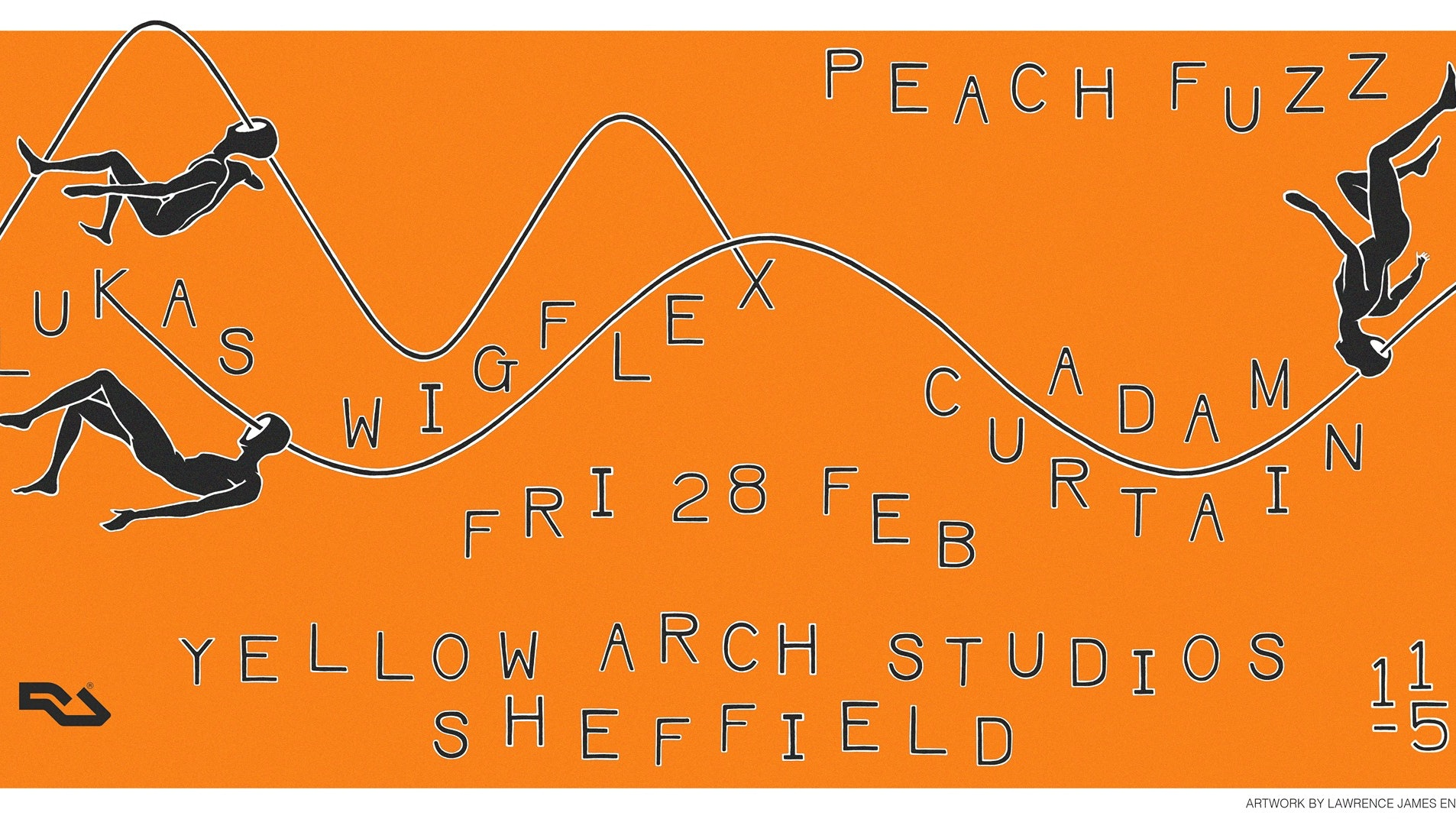 Peach Fuzz Sheffield w/ Adam Curtain, Lukas Wigflex