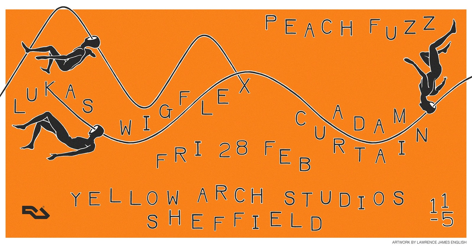 Peach Fuzz Sheffield w/ Adam Curtain, Lukas Wigflex
