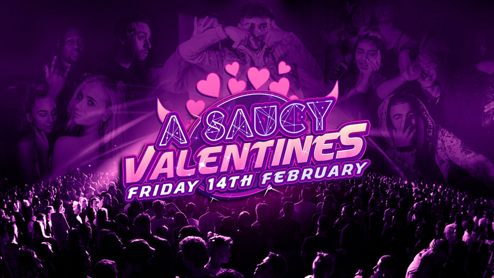 Saucy London /// Valentine's Day Special! ❤️// This event will SELL OUT!