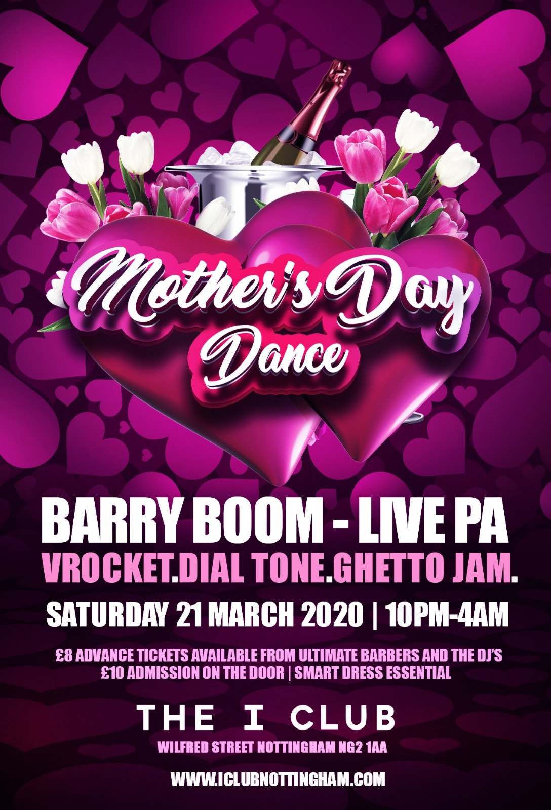 Mother's Day – Barry Boom – Live