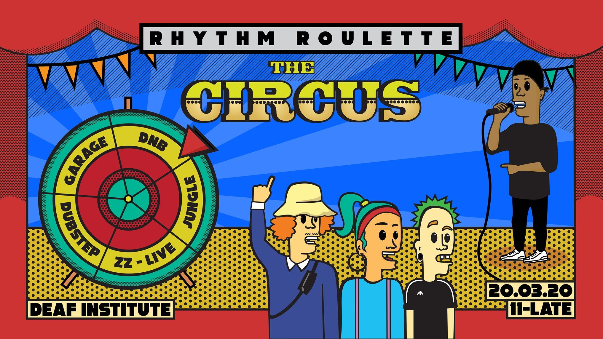 Rhythm Roulette: The Circus