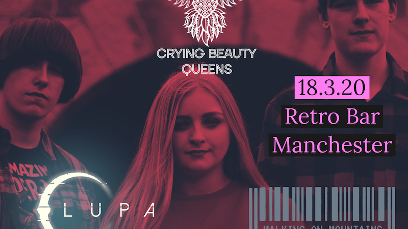 Crying Beauty Queens Single Launch + Special Guests