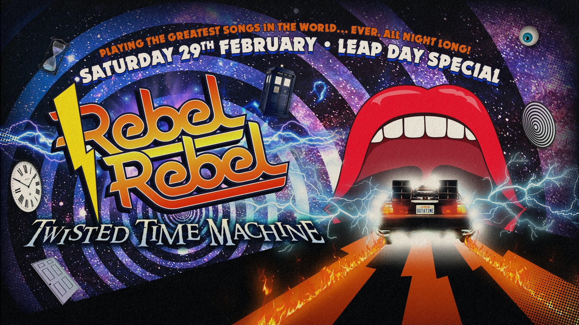 Rebel Rebel — Twisted Time Machine: Leap Day Special