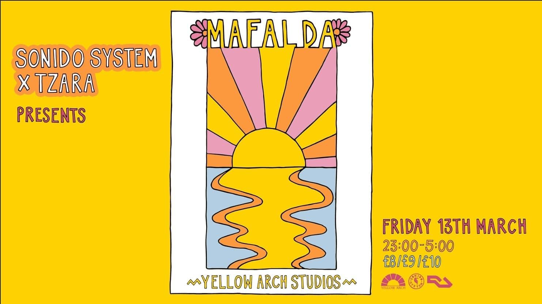 Sonido System x Tzara: Mafalda