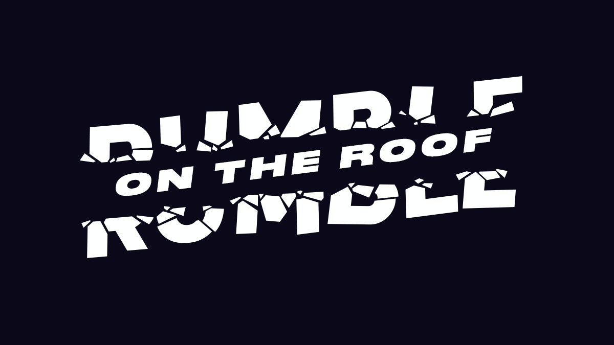 Rumble on the Roof • Drum & Bass Rooftop Series • Launch