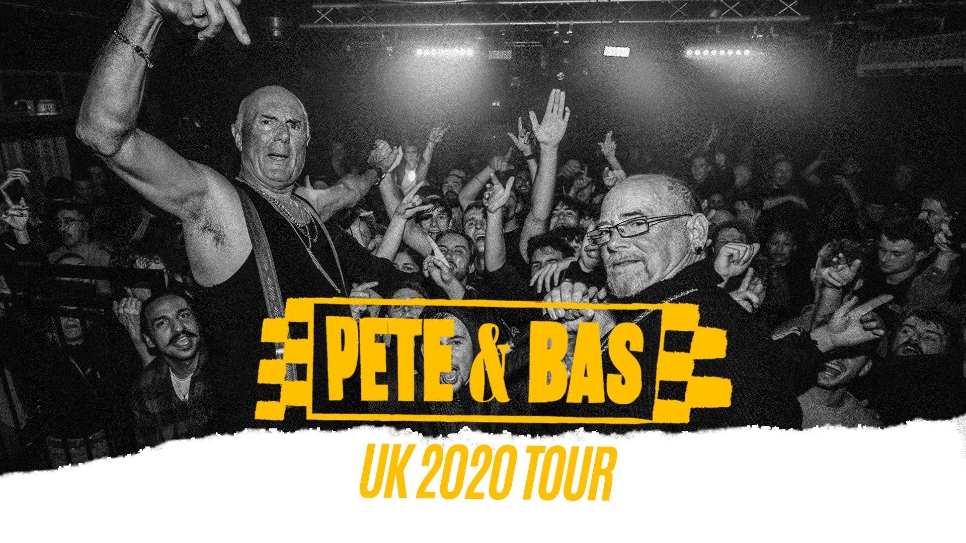 POSTPONED – Pete & Bas